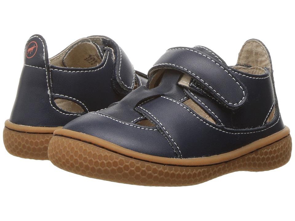Livie & Luca - Captain (Toddler/Little Kid) (Navy) Boy's Shoes