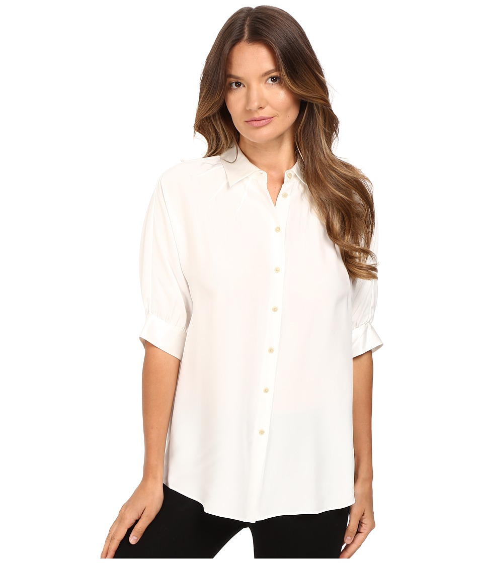 ATM Anthony Thomas Melillo - Dolman Silk Blouse (Ecru) Women's Blouse