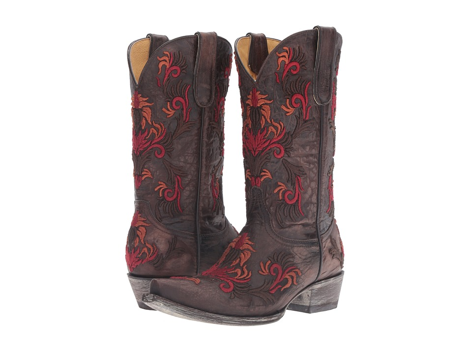 Old Gringo Karime (Chocolate/Red) Cowboy Boots