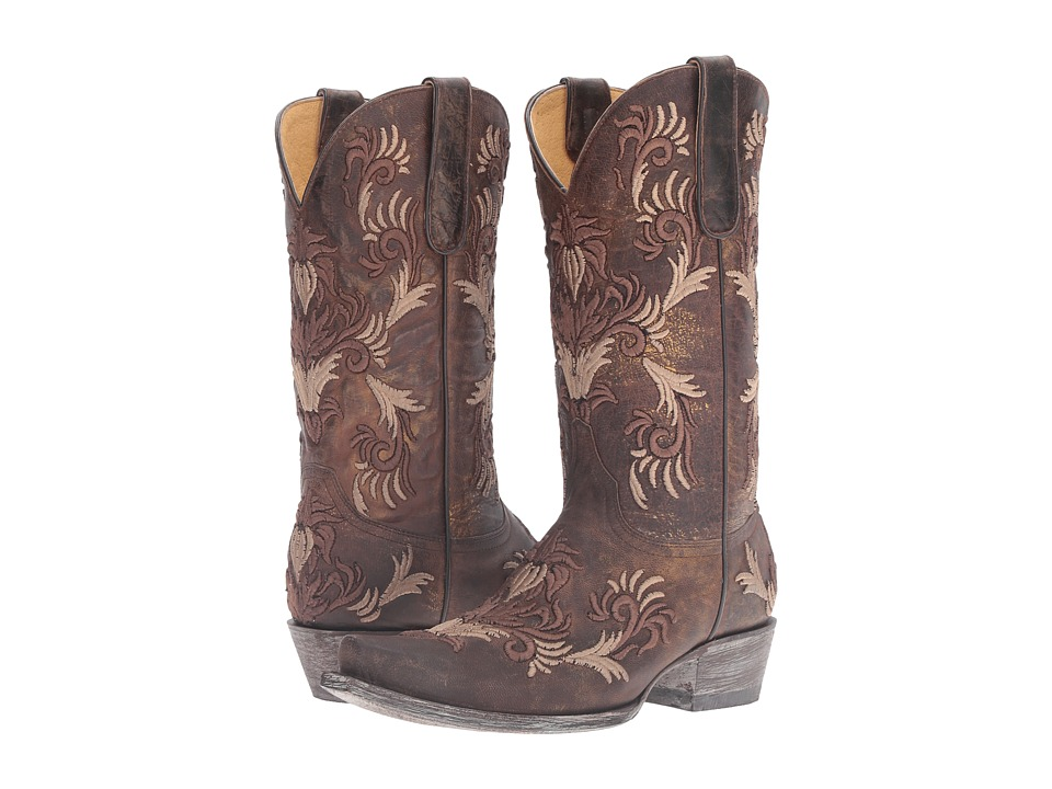 Old Gringo Karime (Chocolate/Tan) Cowboy Boots