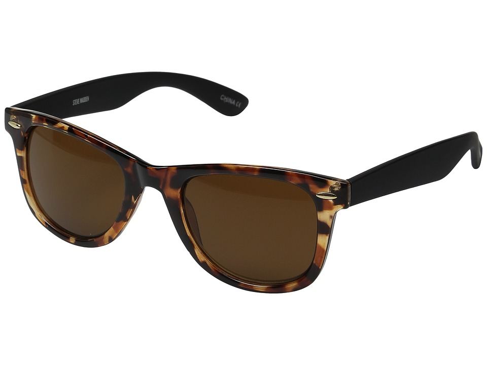 Steve Madden - Bobby (Tortoise) Fashion Sunglasses