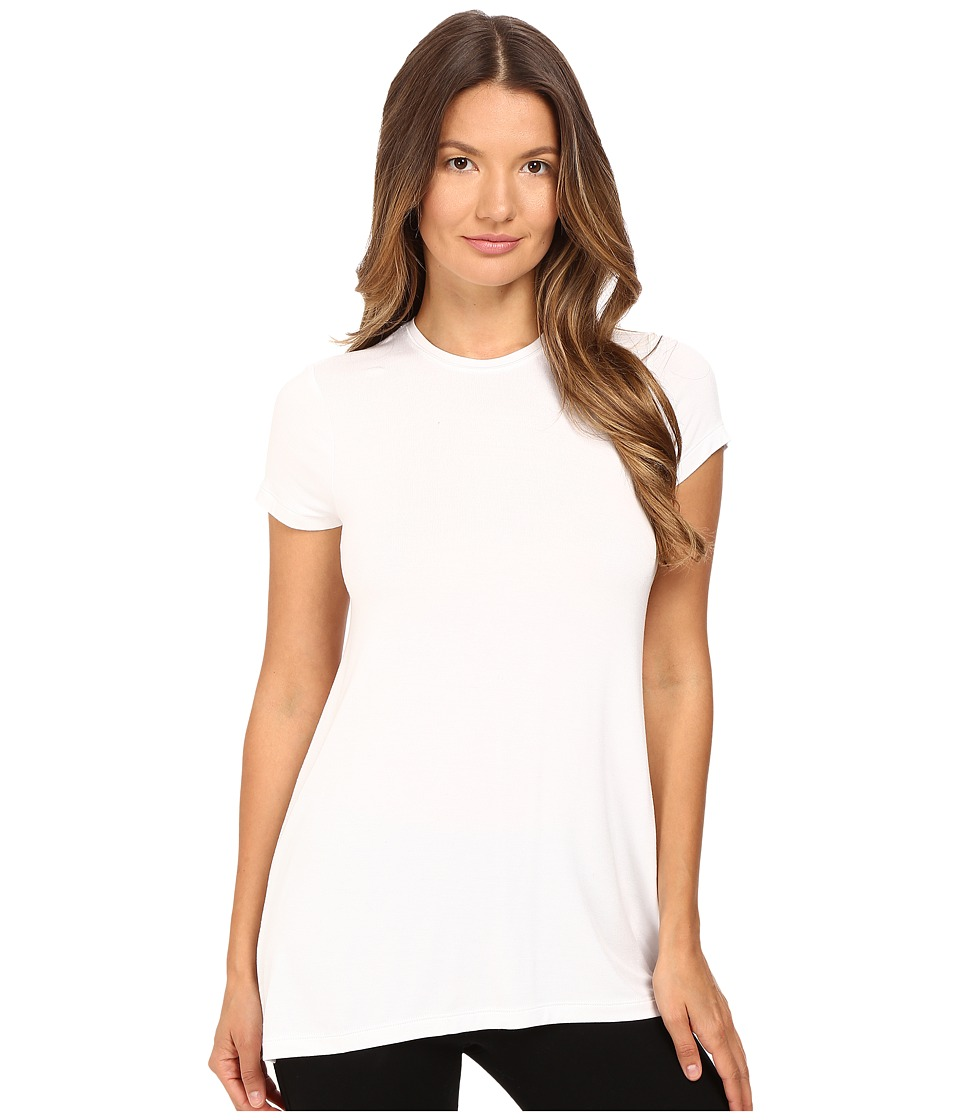 ATM Anthony Thomas Melillo - Short Sleeve Crew Neck Tee (White) Women's T Shirt