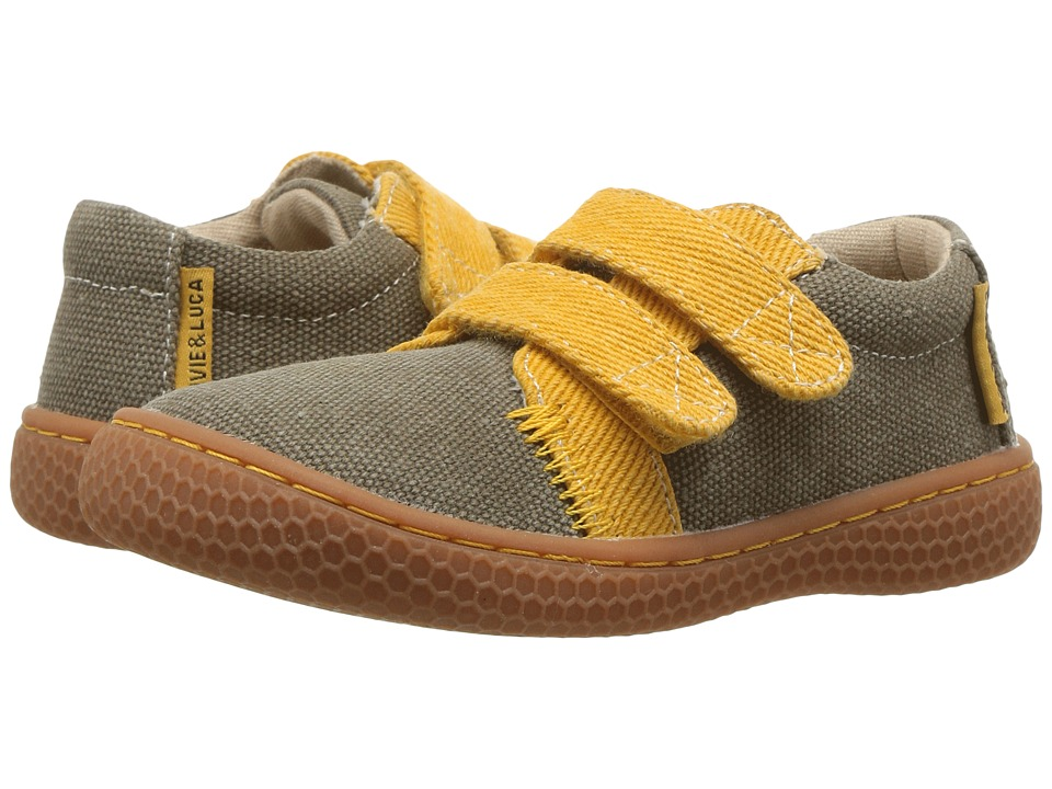 Livie & Luca - Hayes (Toddler/Little Kid) (Moss Green) Boy's Shoes