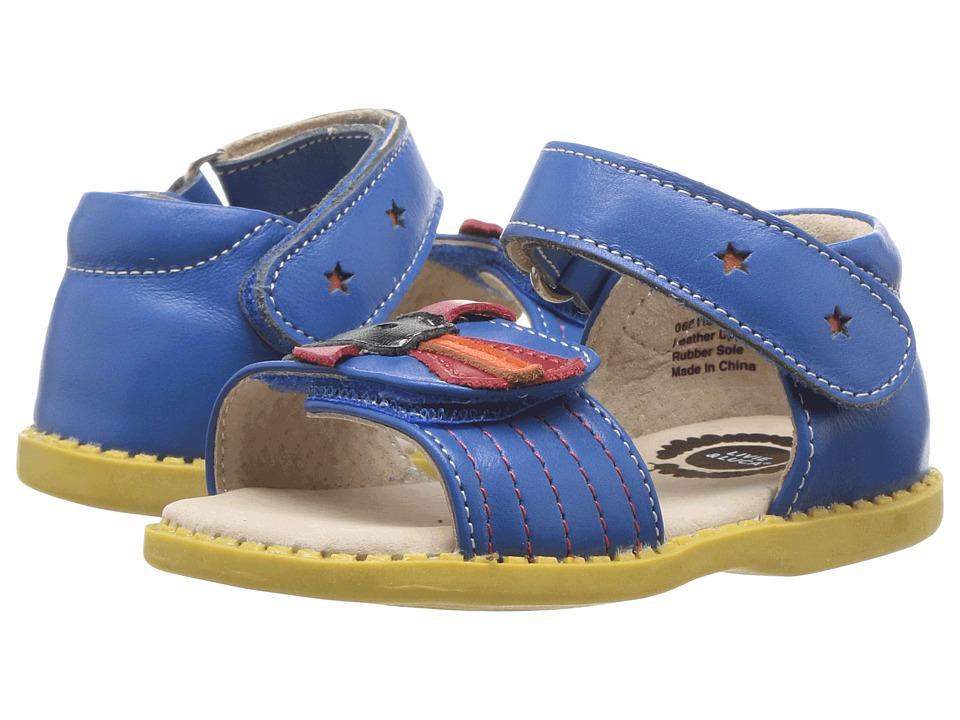 Livie & Luca - Juno (Toddler/Little Kid) (Blue) Boy's Shoes