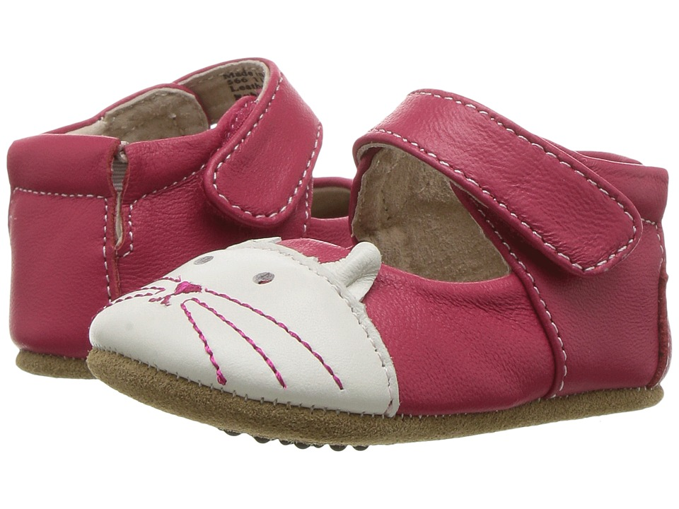 Livie & Luca - Kitten (Infant) (Hot Pink) Girl's Shoes