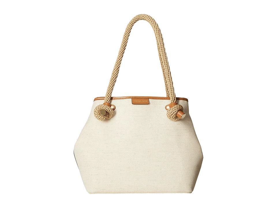 MICHAEL Michael Kors - Maritime Medium Beach Tote (Natural) Tote Handbags