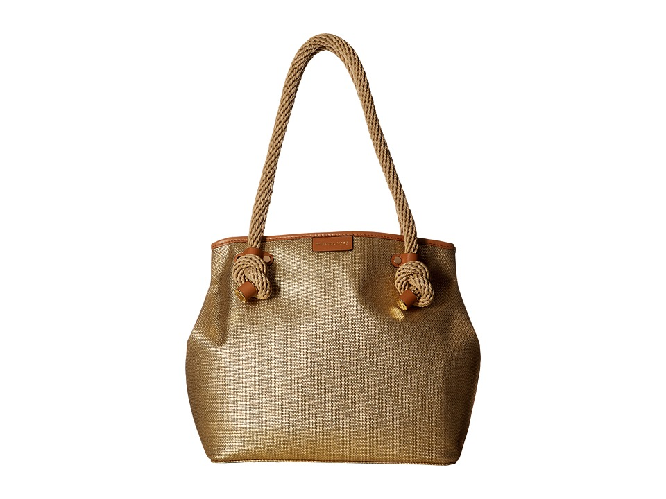 MICHAEL Michael Kors - Maritime Medium Beach Tote (Gold) Tote Handbags