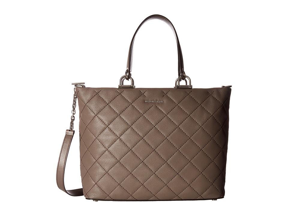 MICHAEL Michael Kors - Loni Large East/West Tote (Cinder) Tote Handbags