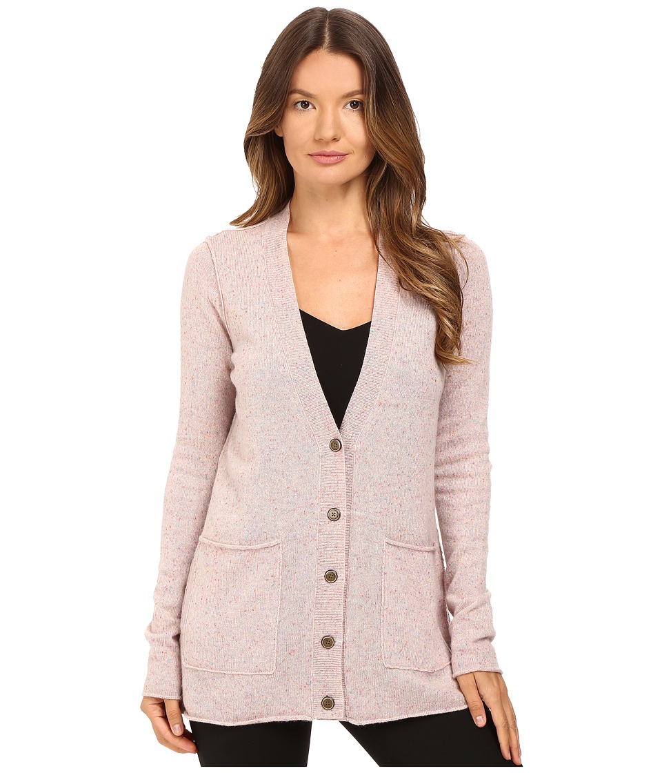 ATM Anthony Thomas Melillo - V-Neck Donegal Cardigan (Ginger Donegal) Women's Sweater