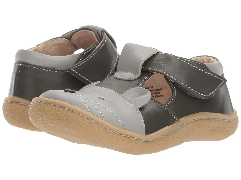 Livie & Luca - Mouse (Toddler/Little Kid) (Gray) Boy's Shoes