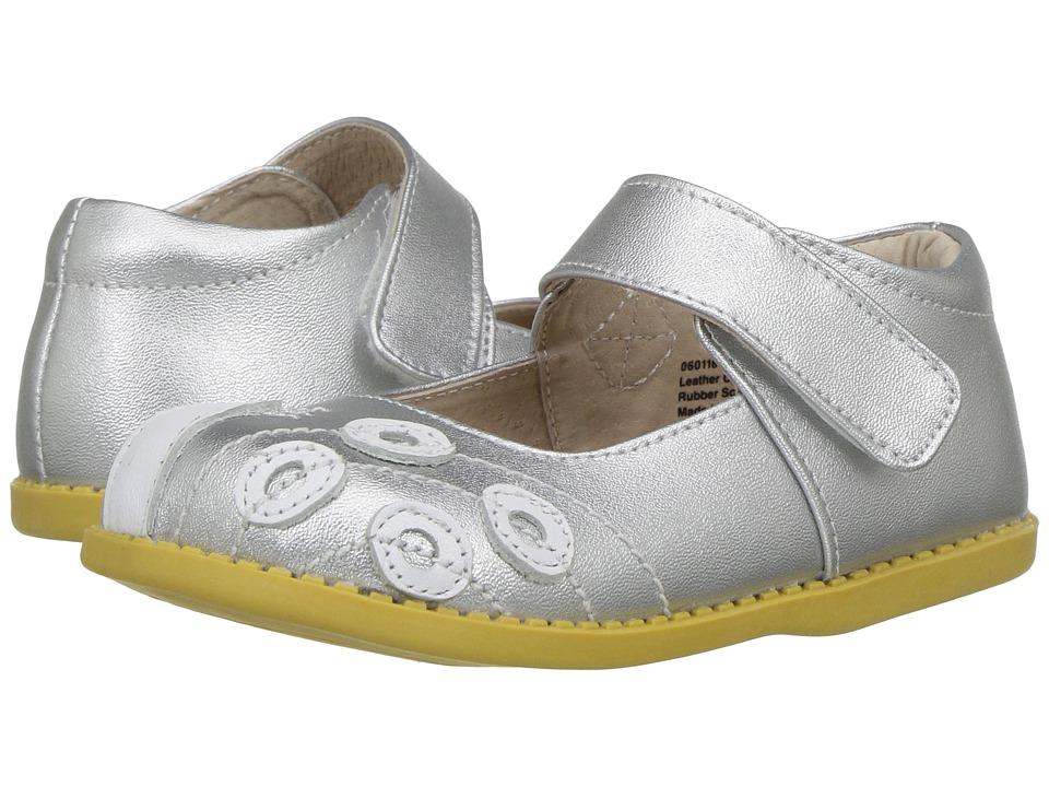 Livie & Luca - Peacock (Toddler/Little Kid) (Platinum) Girl's Shoes