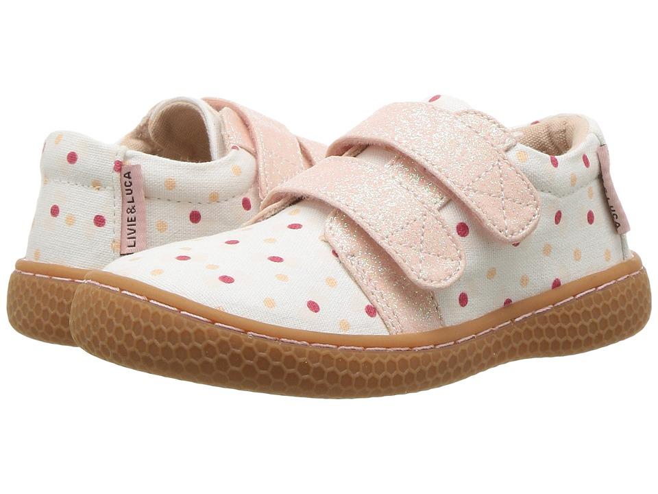 Livie & Luca - Peppy (Toddler/Little Kid) (Blue Bow) Girl's Shoes