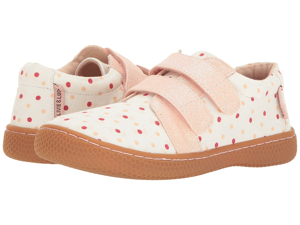 Livie & Luca - Peppy (Little Kid) (Pink Bow) Girl's Shoes