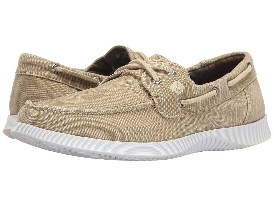 Sperry - Defender 2-Eye Canvas (Chino) Men's Shoes