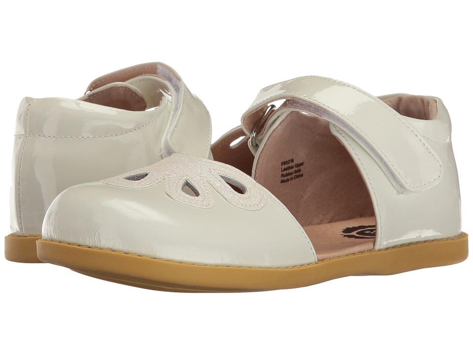 Livie & Luca - Petal (Little Kid) (White) Girl's Shoes
