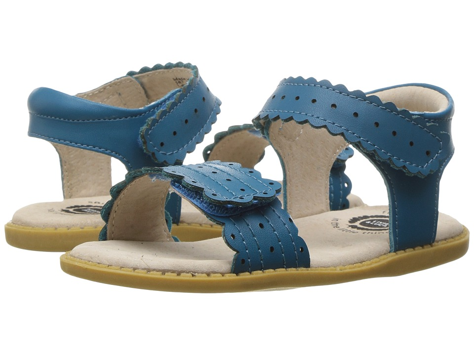 Livie & Luca - Posey (Toddler/Little Kid) (Azure Blue) Girl's Shoes