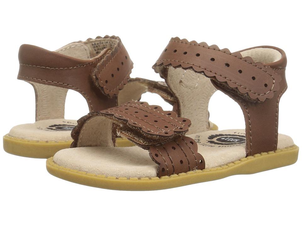 Livie & Luca - Posey (Toddler/Little Kid) (Brown) Girl's Shoes