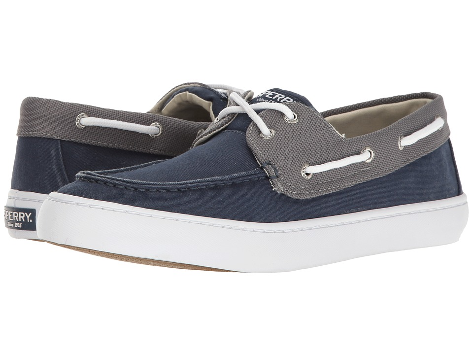 Sperry Top-Sider - Cutter 2-Eye Ballistic (Navy/Grey) Men's Shoes