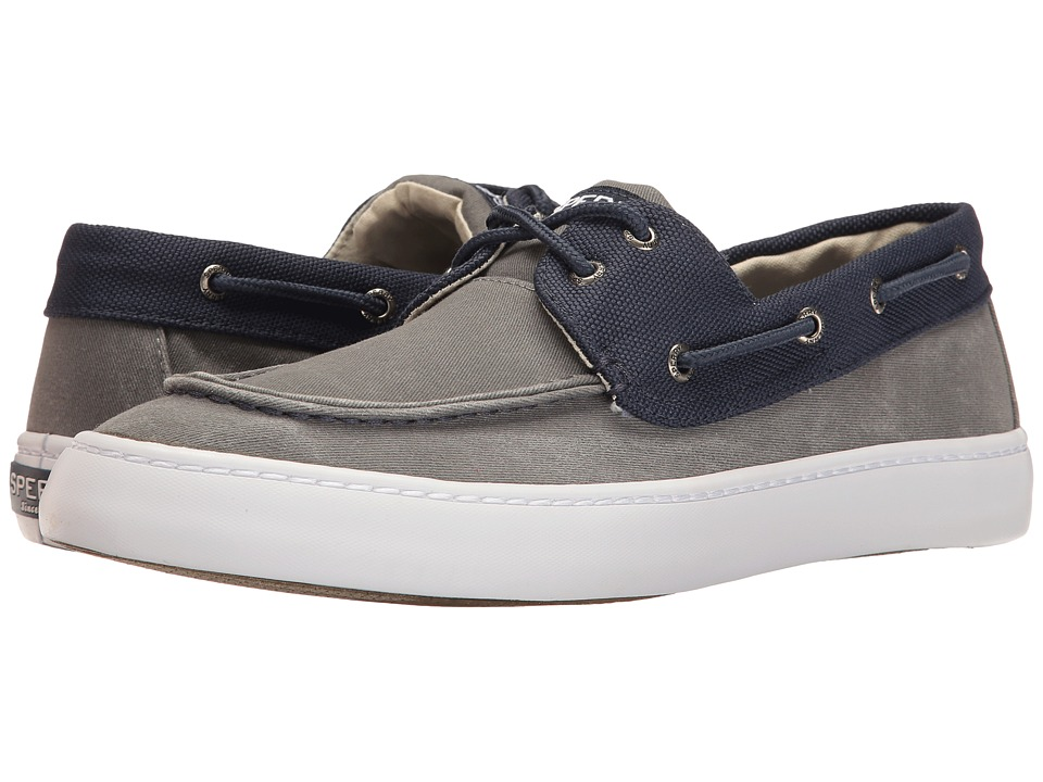 Sperry Top-Sider - Cutter 2-Eye Ballistic (Grey/Navy) Men's Shoes