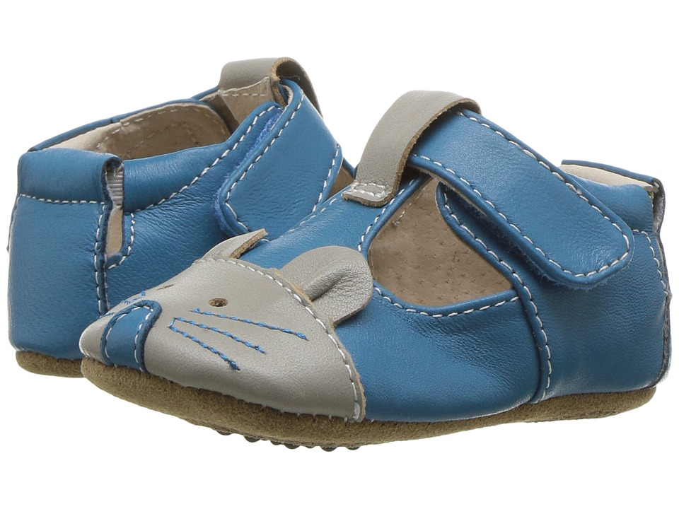 Livie & Luca - Scamper (Infant) (Azure Blue) Boy's Shoes