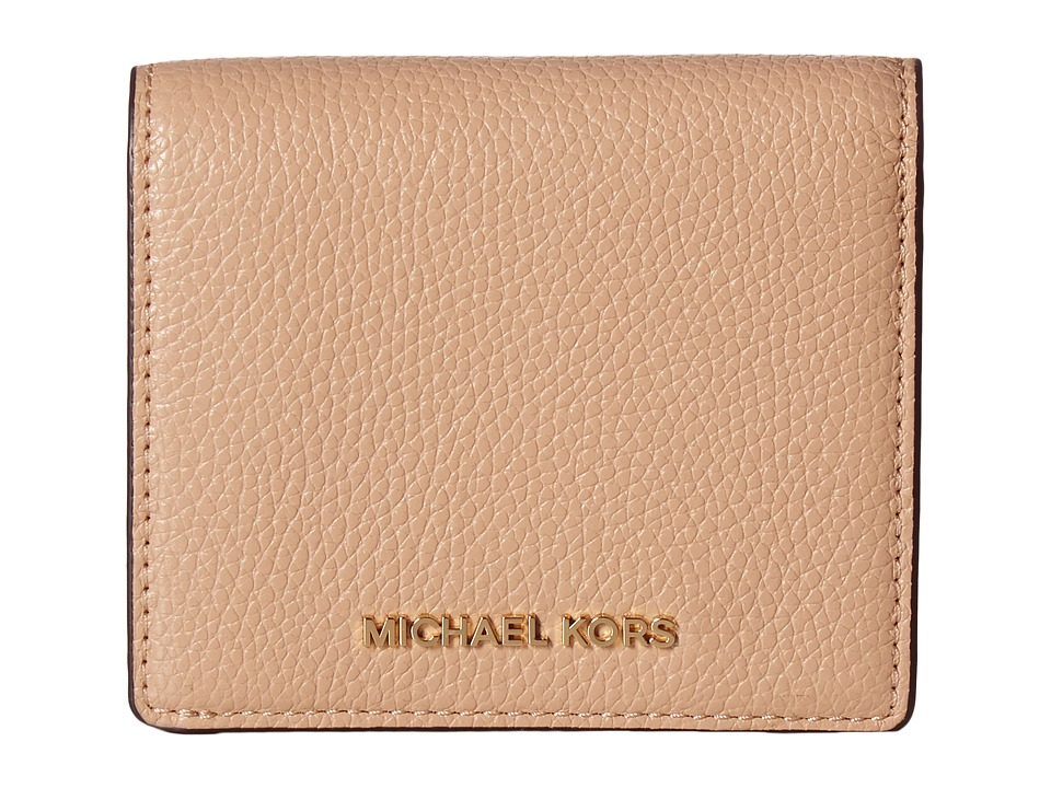 MICHAEL Michael Kors - Mercer Carryall Card Case (Oyster) Credit card Wallet