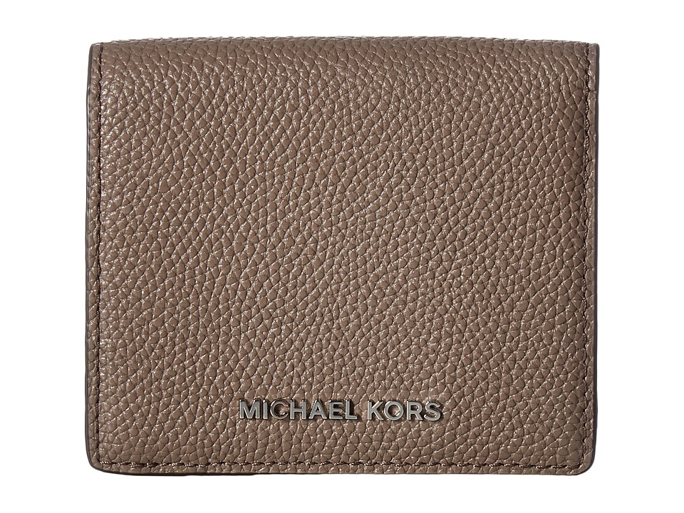 MICHAEL Michael Kors - Mercer Carryall Card Case (Cinder) Credit card Wallet