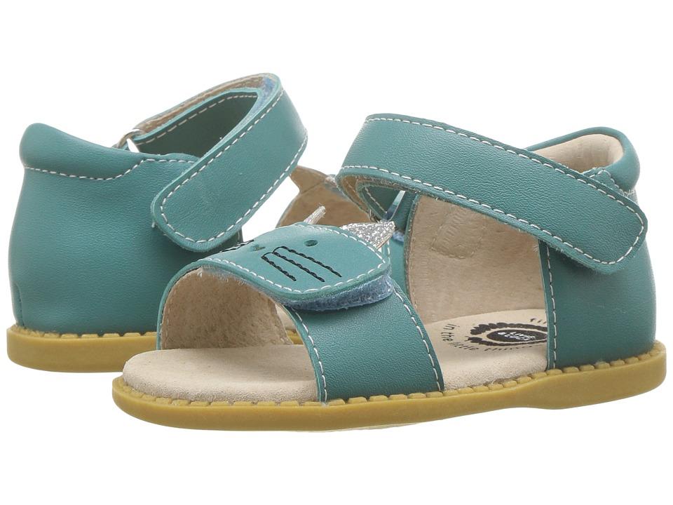 Livie & Luca - Tabby (Toddler/Little Kid) (Turquoise) Girl's Shoes