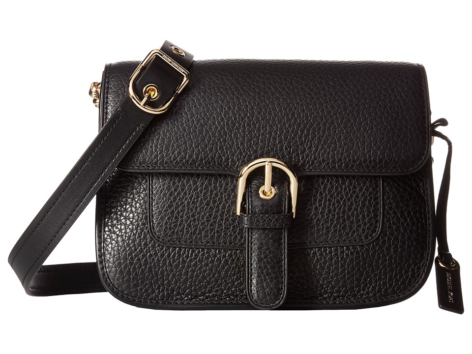 MICHAEL Michael Kors - Cooper Medium Messenger (Black) Messenger Bags