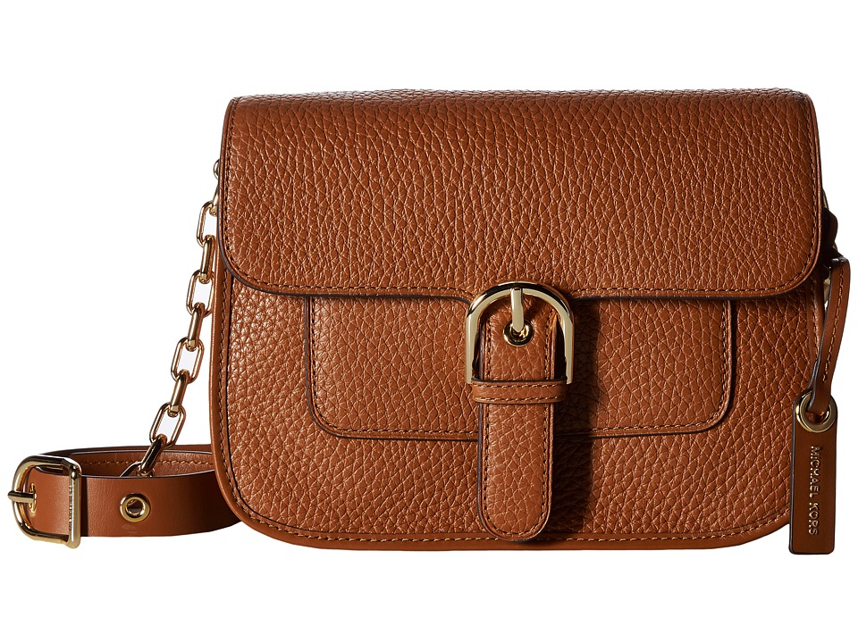 MICHAEL Michael Kors - Cooper Medium Messenger (Luggage) Messenger Bags