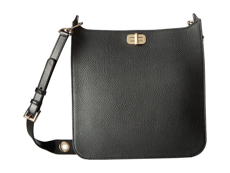 MICHAEL Michael Kors - Sullivan Large North/South Messenger (Black) Messenger Bags