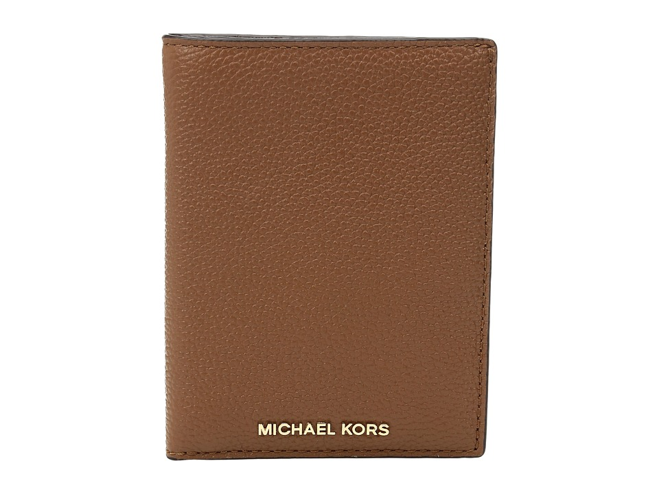 MICHAEL Michael Kors - Mercer Passport Wallet (Luggage) Wallet Handbags