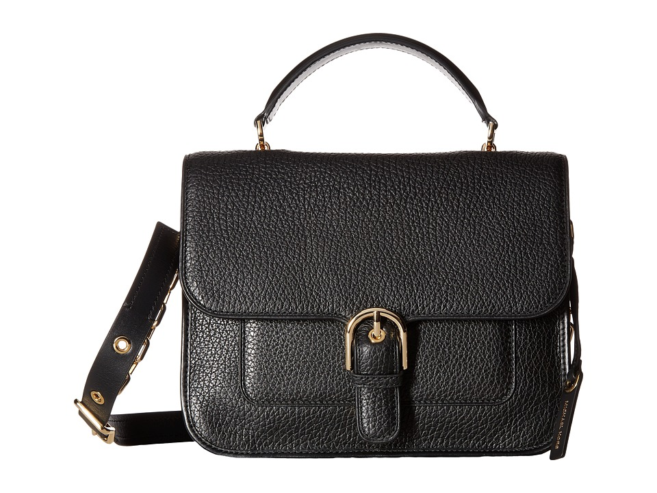 MICHAEL Michael Kors - Cooper Large School Satchel (Black) Satchel Handbags