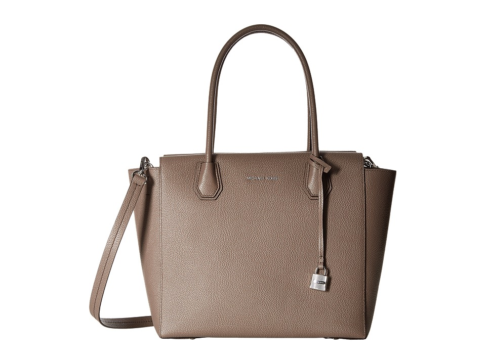 MICHAEL Michael Kors - Mercer Large Satchel (Cinder) Satchel Handbags