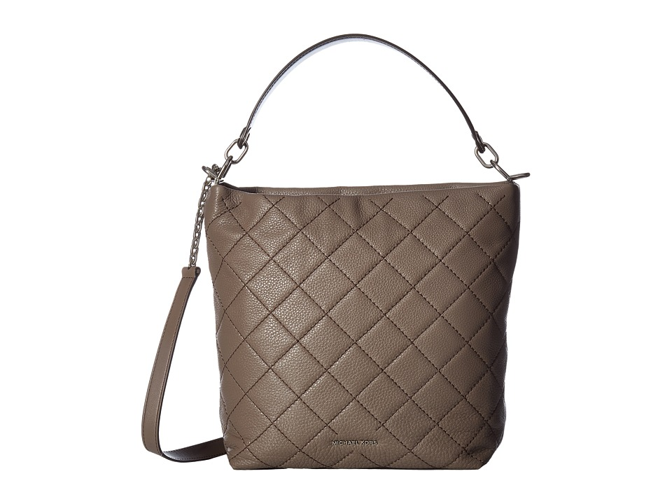 MICHAEL Michael Kors - Loni Large Shoulder (Cinder) Shoulder Handbags