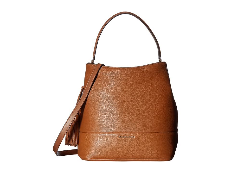 MICHAEL Michael Kors - Kip Large Bucket Bag (Luggage) Bags