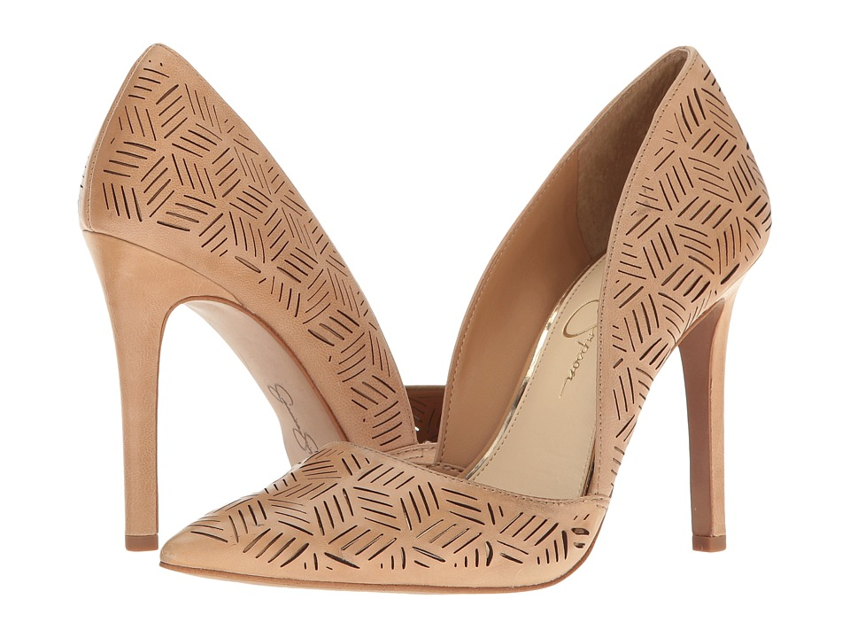 Jessica Simpson - Charie (Sand Castle Ruby Tumbled) Women's Shoes
