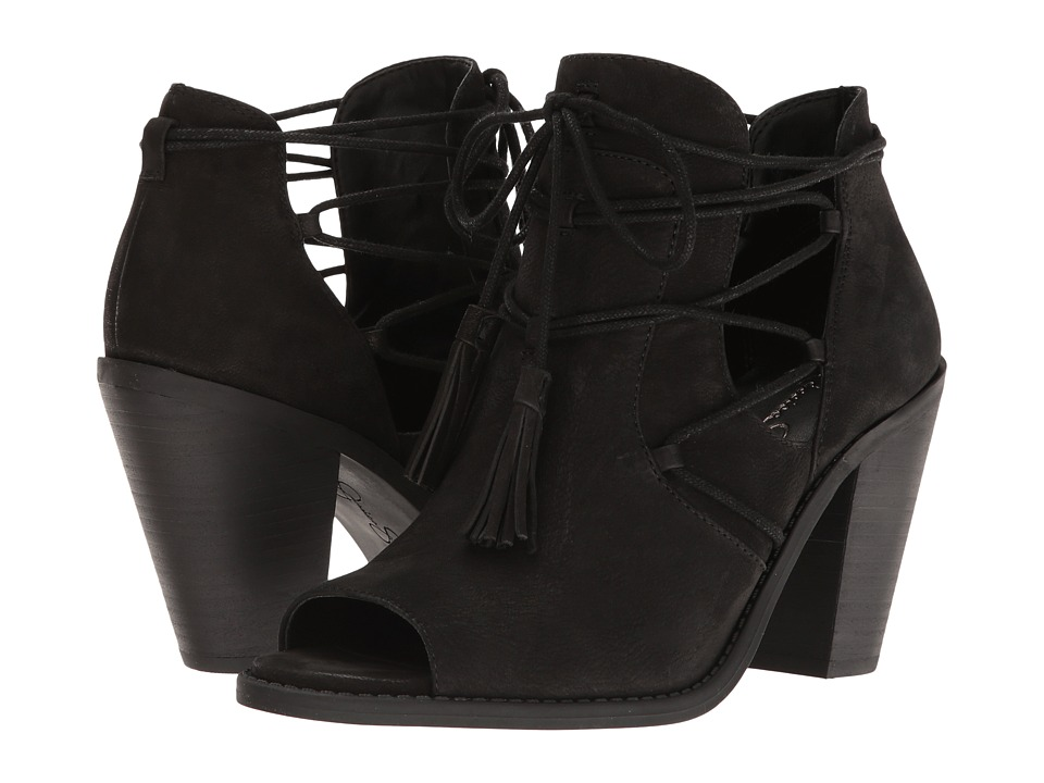 Jessica Simpson - Ceri (Black Moroco) Women's Shoes