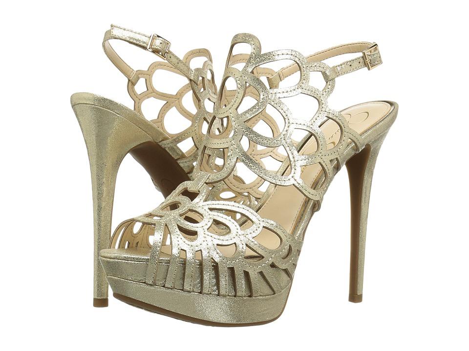 Jessica Simpson Weslynn (Pale Gold Dusty Metallic) Women