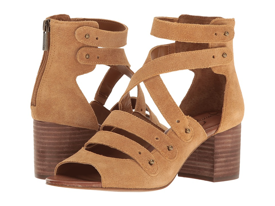 Jessica Simpson - Halacie (Honey Brown Split Suede) Women's Shoes