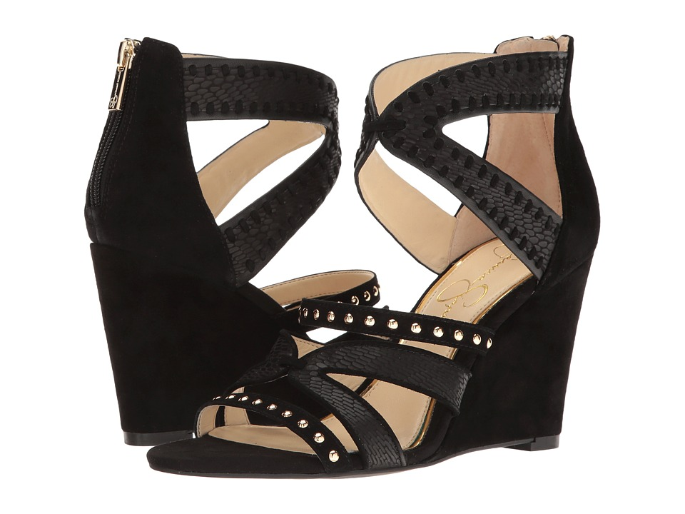 Jessica Simpson Zenolia (Black Luxe Kid Suede) Women