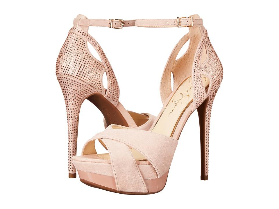 Jessica Simpson - Wendah (Ballerina Nude Luxe Kid Suede) Women's Shoes