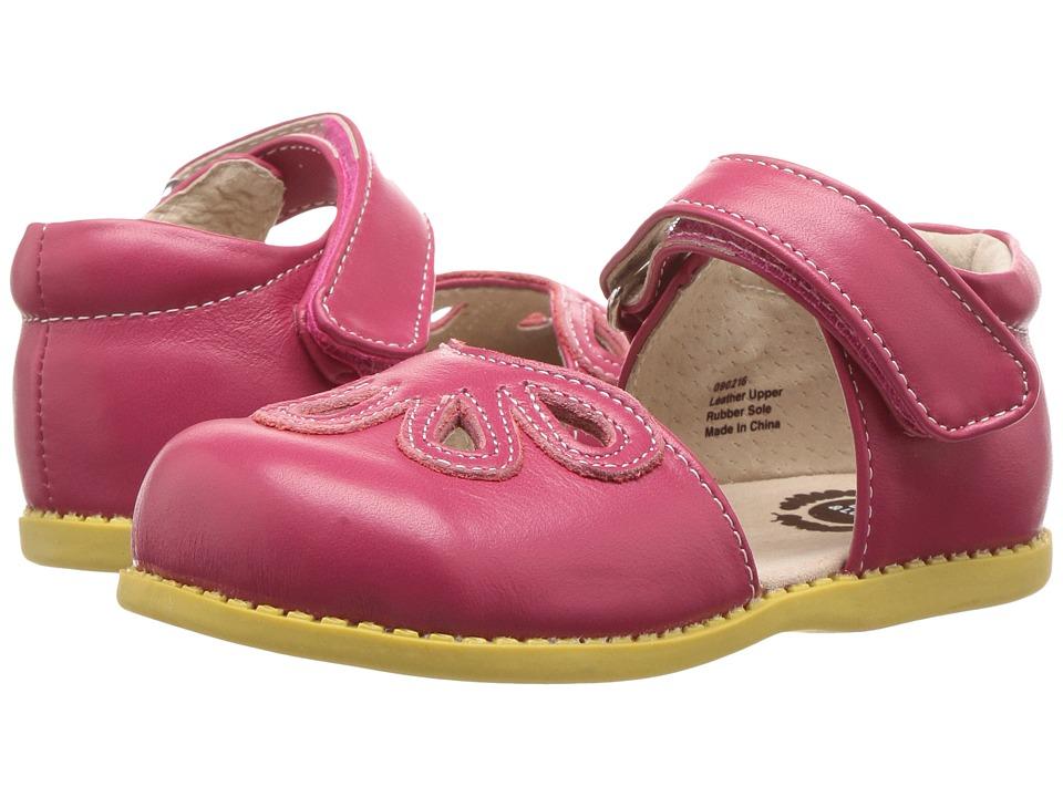 Livie & Luca - Petal (Toddler/Little Kid) (Hot Pink) Girl's Shoes