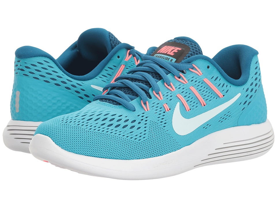 Nike - Lunarglide 8 (Chlorine Blue/Glacier Blue) Women's Running Shoes