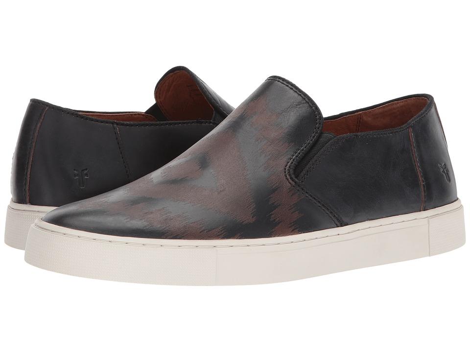 Frye - Gabe Laser Slip-On (Black Smooth Pull Up) Men's Slip on Shoes