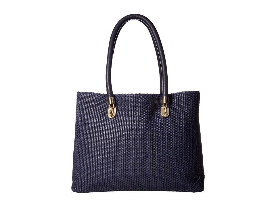 Cole Haan - Benson Tote (Midnight/Blueberry) Tote Handbags