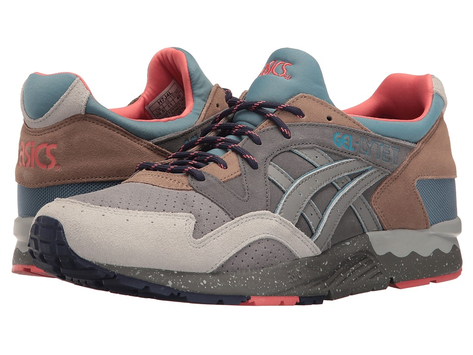 ASICS Tiger - Gel-Lyte(r) V (Carbon/Aluminum) Men's Shoes