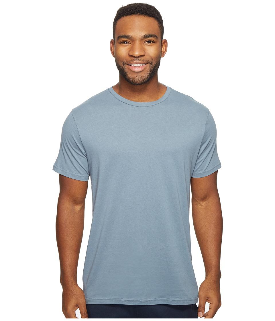 Volcom - Solid Short Sleeve T-Shirt (Ash Blue) Men's T Shirt