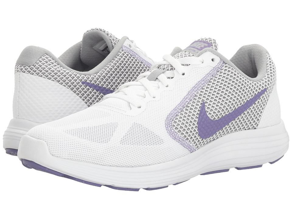 Nike - Revolution 3 (Glacier Blue/Matte Silver/Still Blue) Women's Running Shoes