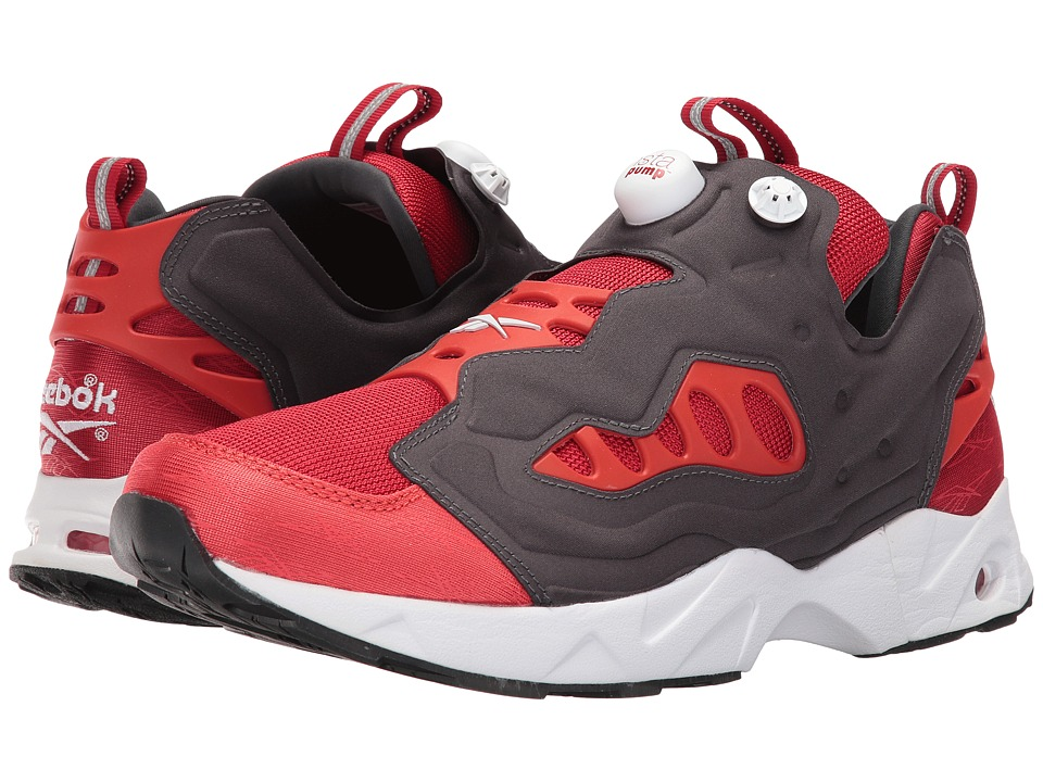 Reebok - Instapump Fury Road (Flash Red/Motor Red/White) Men's Shoes
