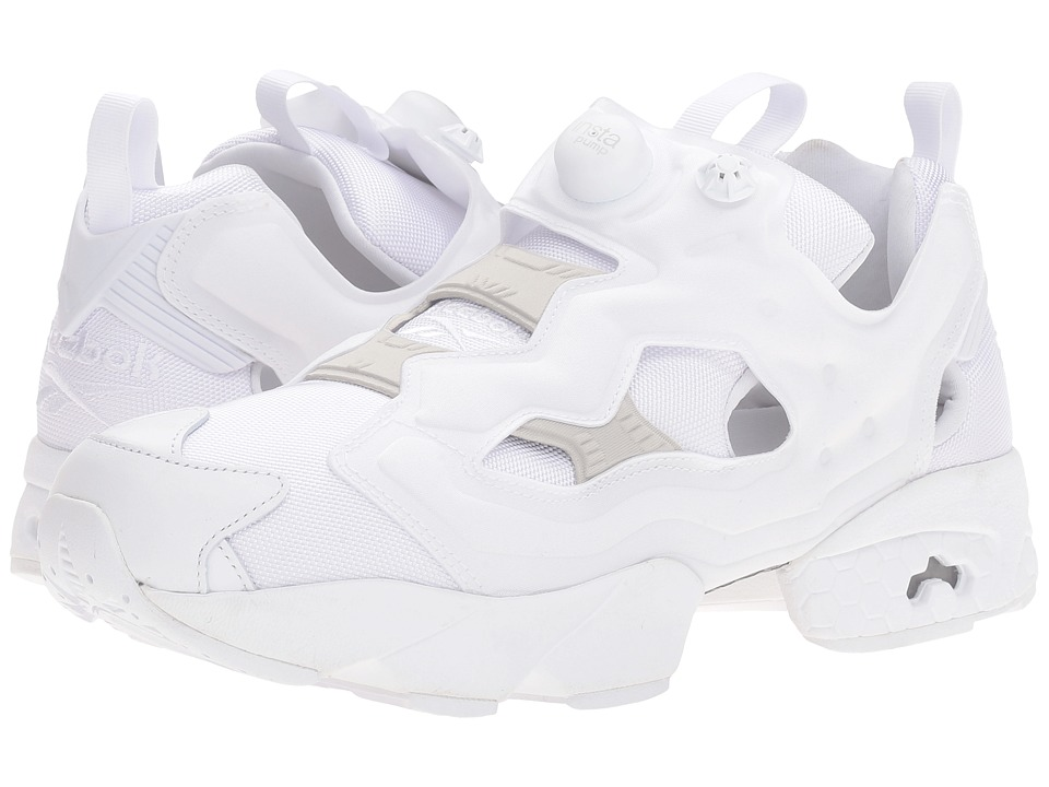 Reebok - Instapump Fury OG (White/Steel) Men's Shoes
